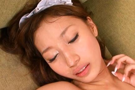 Tiara Ayase lovely Asian maid