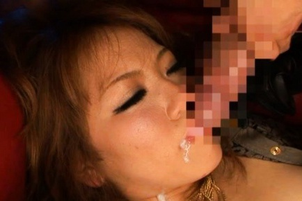 China Nishino stars in a Japanese cosplay porn video with sex action