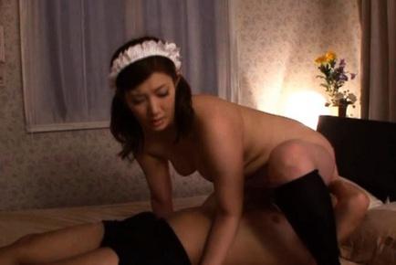 Mari Hosokawa Kinky Japanese maid