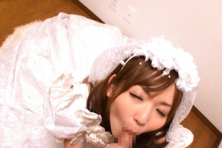 Yuu Asakura Japanese doll is a lustful bride