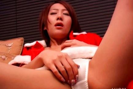 Tsubasa Okina Hot Asian chick in cosplay adventure