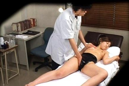 Japanese swim suit massage