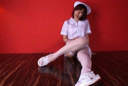 Yuria Satomi Asian babe in cosplay sex