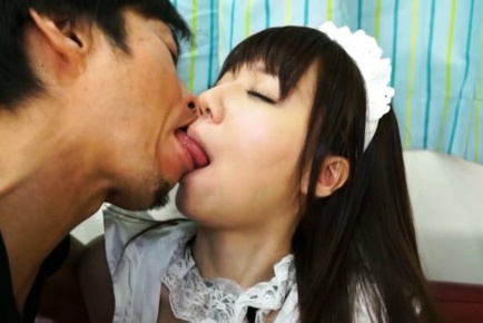 Sexy Japanese babe Yurika Miyaji enjoys hard sex
