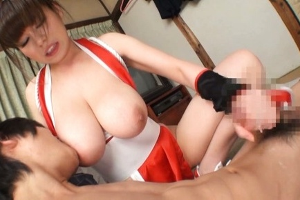 Busty Asian model enjoys tasty dick in perfect blowjob